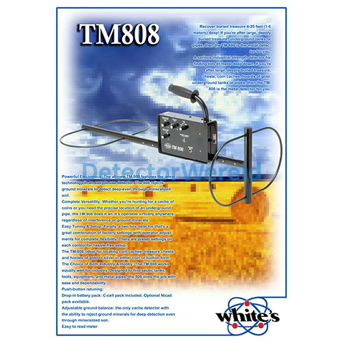 poster whites diepzoeker treasuremaster tm808