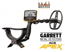 Garrett APEX multifrequentie metaaldetector pre-sale