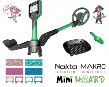 Nokta Makro mini hoard met cool kit